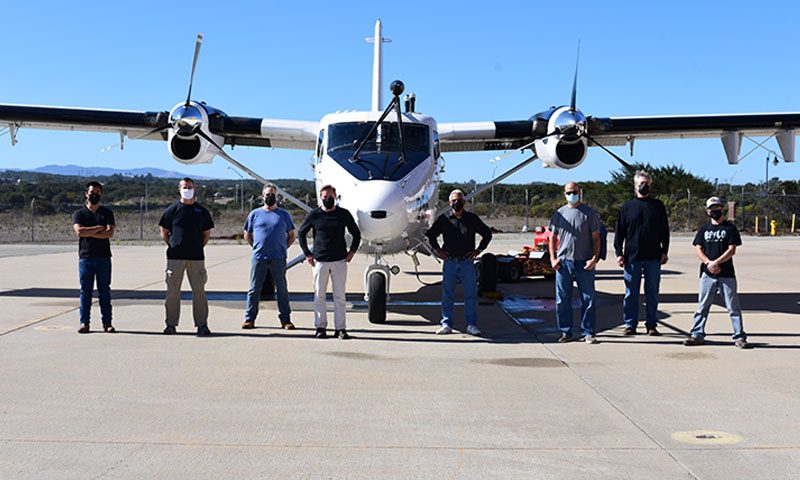 NPS Researchers Use Flying Laboratory to Study Wildfire Smoke Effects on Naval Operations