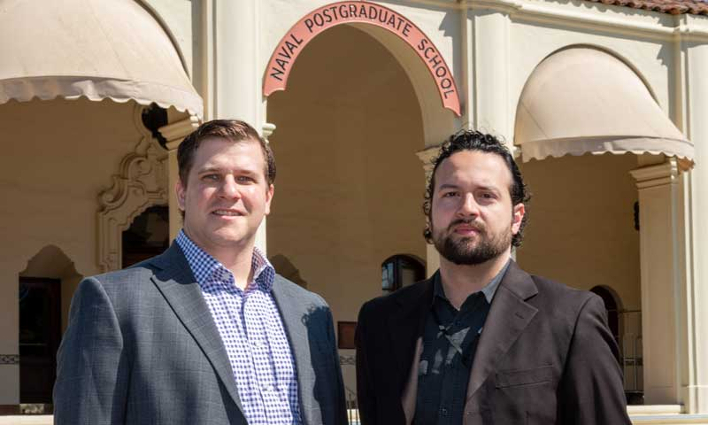 ONR Awards Two NPS Faculty with Young Investigator Program Honors