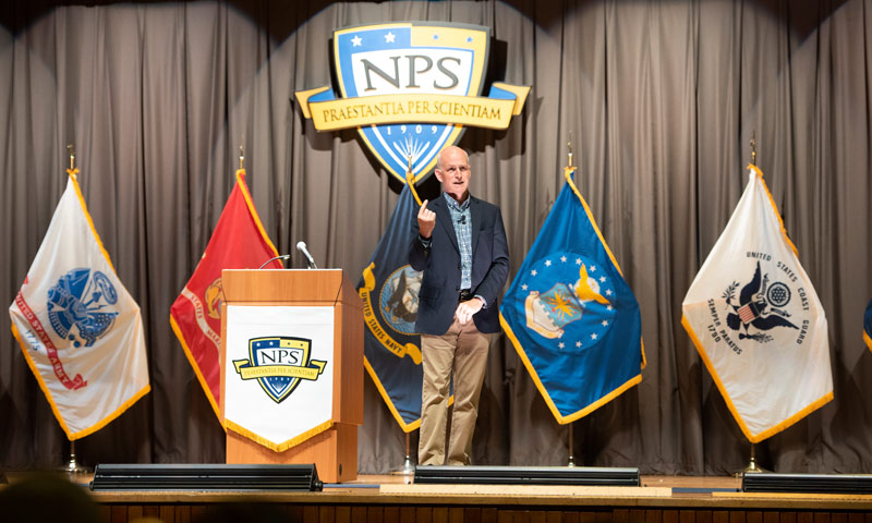 HASC Chairman Talks Defense Innovation, Technological Leadership During Visit and Lecture at NPS